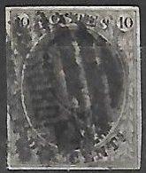 OCB Nr 10 ?? King Roi Koning Leopold I - Stempel Nord - Belgio