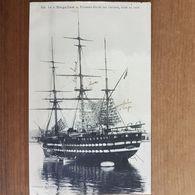 Brest.le Magellan Vaisseau école Des Gabiers,situé En Rade.édition Le Bourdonnec N°100 - Brest