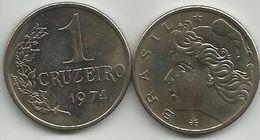 Brazil 1 Cruzeiro 1974. High Grade - Brésil