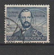 Bundesrepublik Deutschland / 1952 / Mi. 150 Gestempelt (BT26) - Usados