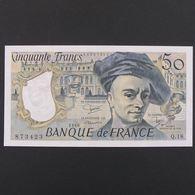 50 Francs Quentin De La Tour 1980, SPL - 50 F 1976-1992 ''Quentin De La Tour''
