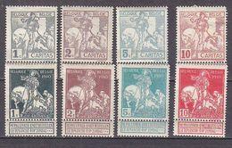 K6131 - BELGIE BELGIQUE Yv N°84/91 * - 1910-1911 Caritas