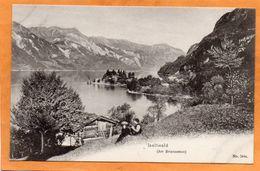 Iseltwald Brienz Switzerland 1907 Postcard - BE Berne