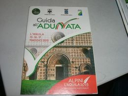 GUIDA ALL'ADUNATA L' AQUILA MAGGIO 2015 - Revues & Journaux