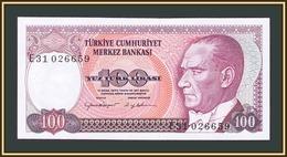 Turkey 100 Lire 1984-1989 P-194 (194b) UNC - Turchia
