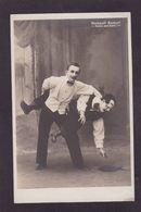 CPA Cirque Clown Circus Cirk Real Photo Non Circulé Humpsti Bumsti - Circus