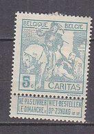 K6134 - BELGIE BELGIQUE Yv N°86 * - 1910-1911 Caritas