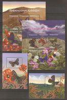 2002 Turkmenistan. Butterfly. Full Set  ** - Turkmenistan
