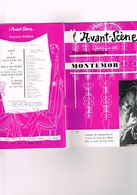 L'Avant-Scène N°154 Femina-théâtre Montemor Comédie Des Champs-Elysées G. Baïlac P. Olivier Amour Don Perlimplin Caprile - Autres