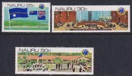 NAURU 1980 Decolonizing Decree Sc 221-23 Mint Never Hinged - Nauru