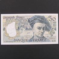 50 Francs Quentin De La Tour 1981 , SUP - 50 F 1976-1992 ''Quentin De La Tour''