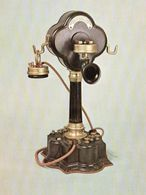 Poste S.I.T Système BAILLEUX 1893 Histoire Du Téléphone Collection Historique Du CNET Télécom - Post