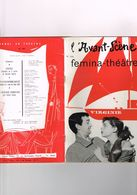 L'Avant-Scène N°144 Femina-théâtre Virginie Théâtre Daunou Michel André C. Alers M. Barbey L. Colpeyn P. Bruno R. Willar - Autres