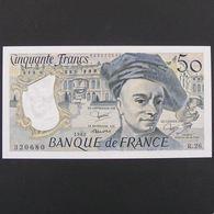 50 Francs Quentin De La Tour 1982, SPL - 50 F 1976-1992 ''Quentin De La Tour''