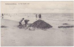 Schiermonnikoog Strand Spelende Kinderen VN1775 - Schiermonnikoog