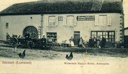 Auberge E.Rollin à Sécourt - Frankreich