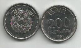 Brazil 200 Cruzeiros  1985. - Brésil