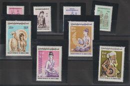 Birmanie 1974 Costumes Régionaux 157-64 8 Val ** MNH - Myanmar (Burma 1948-...)
