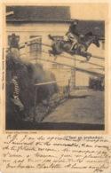Ypres - Ecole D'Eqquitation - Saut En Profondeur - Ieper