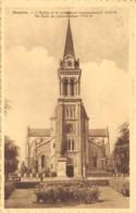Héverlée - L'Eglise Et Le Monument Commémoratif - Ed. Jossart - Leuven