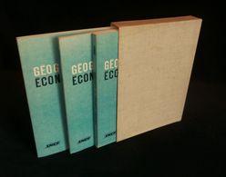 ( Chemins De Fer SNCF ) GEOGRAPHIE ECONOMIQUE ET FERROVIAIRE 1967 3 TOMES - Railway & Tramway