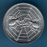 SAN MARINO 1 LIRE 1975 KM# 40 Spiders In Web Araignées - Saint-Marin