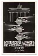 Berlin IAA Automobil Ausstellung 1937 Sonderstempel - Deutschland