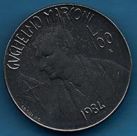 SAN MARINO 100 LIRE 1984 KM# 165 Guglielmo Marconi - Saint-Marin