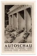 Berlin Autoschau 1936 Sonderstempel - Storia Postale