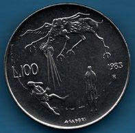 SAN MARINO 100 LIRE 1983 KM# 151 Destiny - Saint-Marin