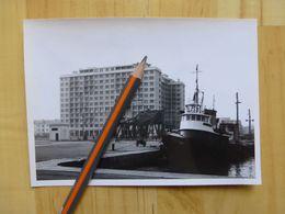 44 SAINT NAZAIRE - PLACE DU BASSIN - PHOTO ORIGINALE 1950-60 - Saint Nazaire