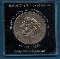 UK 25 NEW PENCE 1981 CHARLES & DIANA Royal Wedding KM# 925 - 25 New Pence