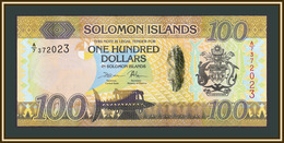 Solomon Islands 100 Dollars 2015 P-36 (36a.2) UNC - Salomons