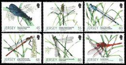 JERSEY Libellules 6v 2013 Neuf ** MNH - Jersey