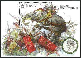 JERSEY Bloc Batailles Romaines 2014  Neuf ** MNH - Jersey
