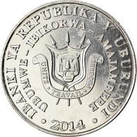 Monnaie, Burundi, 5 Francs, 2014, Oiseaux - Aigle Couronné, SPL, Aluminium - Burundi