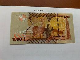 Uganda 1000 Shillings Uncirc. Banknote 2017 - Uganda