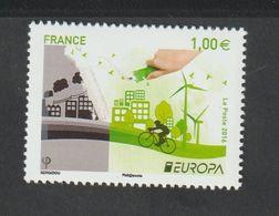 TIMBRE - 2016  -   N° 5046 - Europa , L' écologie En Europe  -   Neuf Sans Charnière - France