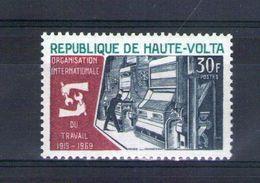 Haute Volta. Centenaire De L'organisation Internationale Du Travail - Obervolta (1958-1984)