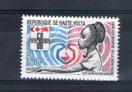 Haute Volta. Cinquantenaire De La Ligue Des Sociétés De La Croix Rouge - Obervolta (1958-1984)