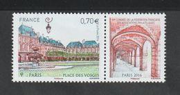 TIMBRE - 2016  -   N° 5055 - 89 éme Congrès Philatélique , Place Des Vosges Paris  -   Neuf Sans Charnière - France