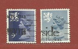 Timbre Grande-Bretagne Elisabeth II N° 851 - 852 - 1952-.... (Elizabeth II)