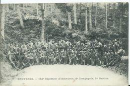 BRUYERES - 152e Régiment D'infanterie , - Bruyeres