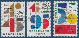 NVPH 1643-1645 - 1995 - Gecombineerde Uitgave - Vrijheid - 50 Jaar Verenigde Naties - 1980-... (Beatrix)