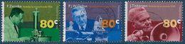 NVPH 1653-1655 - 1995 - Nobelprijswinnaars - Zernike, Debye, Tinbergen - 1980-... (Beatrix)