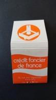 4 Boîtes D'allumettes Crédit Lyonnais - Gan - Crédit Foncier - Boites D'allumettes