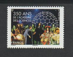 TIMBRE - 2016  -   N° 5074  -  350éme Anniversaire De L' Académie Des Sciences    -  Neuf Sans Charnière - Nuovi