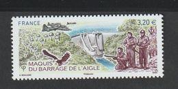 TIMBRE - 2016  -   N° 5078  - Maquis Du Barrage De L' Aigle   -  Neuf Sans Charnière - Nuovi