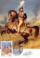FRANCE.CARTE MAXIMUM. N°207577. 23/06/2017. Cachet Labastide Lurat. Joachim Murat. Signé Cotelin - Cartoline Maximum