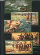 VASCO NUNEZ DE BALBOA - DECOUVREUR OCEAN PACIFIQUE PAR ISTHME DE PANAMA - SERIE DE 10 CHROMOS EDUCATIVES - Histoire